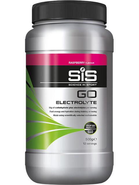 SiS Go Electrolyte Drink Raspberry 500g